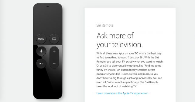 Apple's Siri Remote: could this impressive piece of kit be further improved?