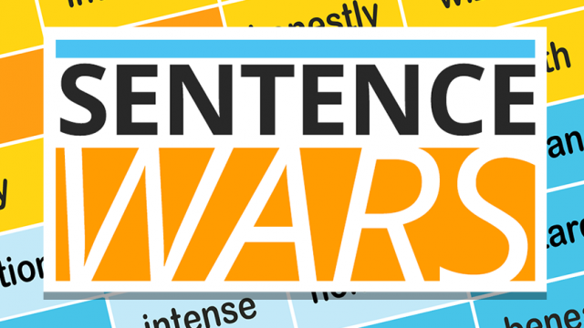 Become a grammar warrior in Sentence Wars