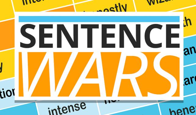 Become a grammar warrior in Sentence Wars