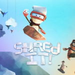 Grab your snowboard and Shred It! with a fun holiday update