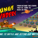 Protect the waters, the sucking Spunge Invaders have arrived