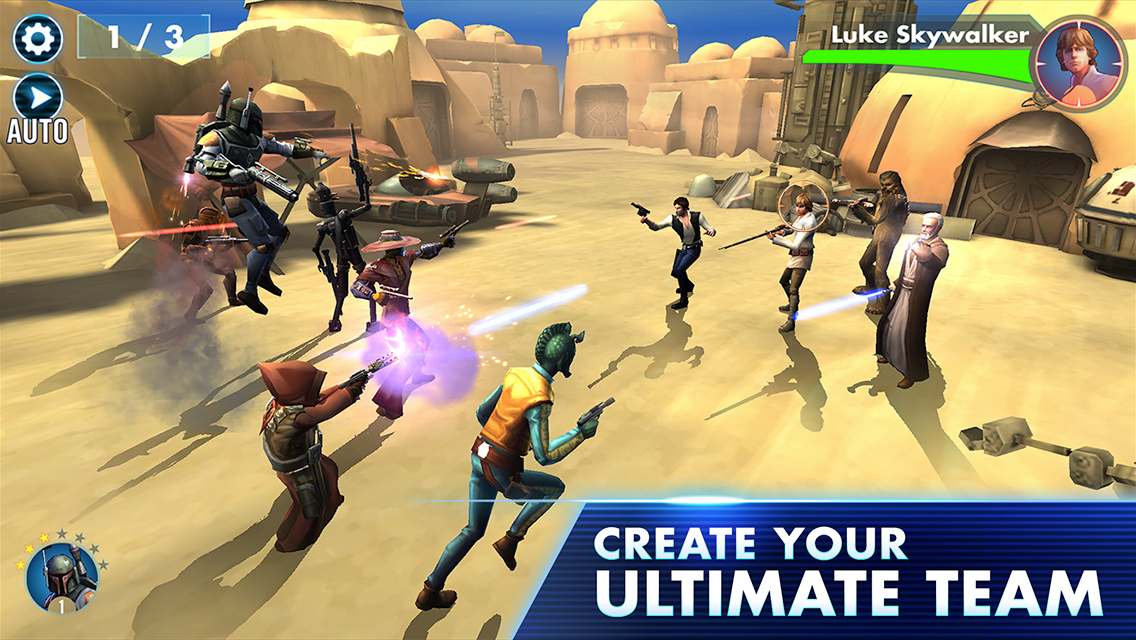 Star Wars- Galaxy of Heroes