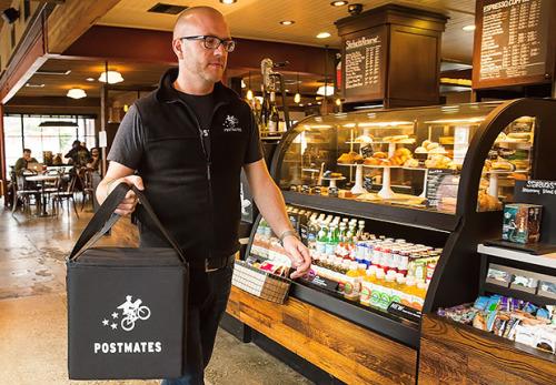 Starbucks Postmates