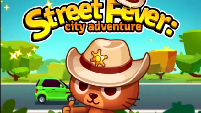Control traffic as a cat sheriff in Street Fever: City Adventure