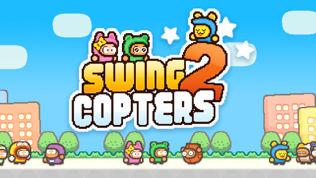Flappy Bird creator launches sequel to Swing Copters