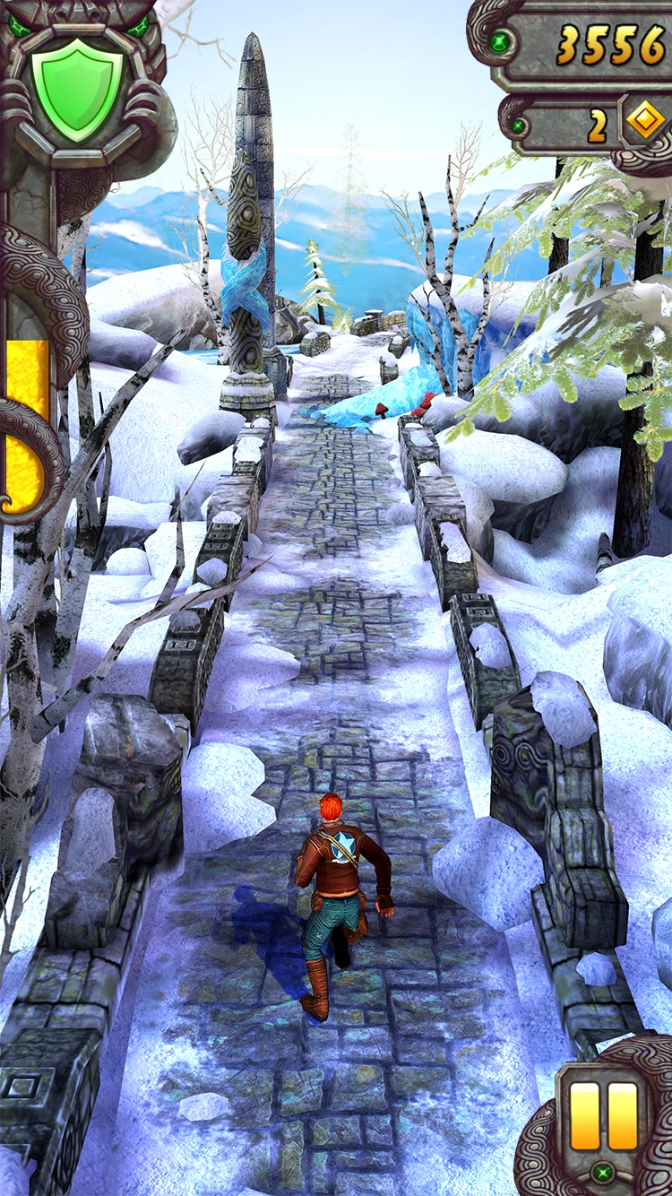 Temple Run 2 Frozen Shadows Guy track