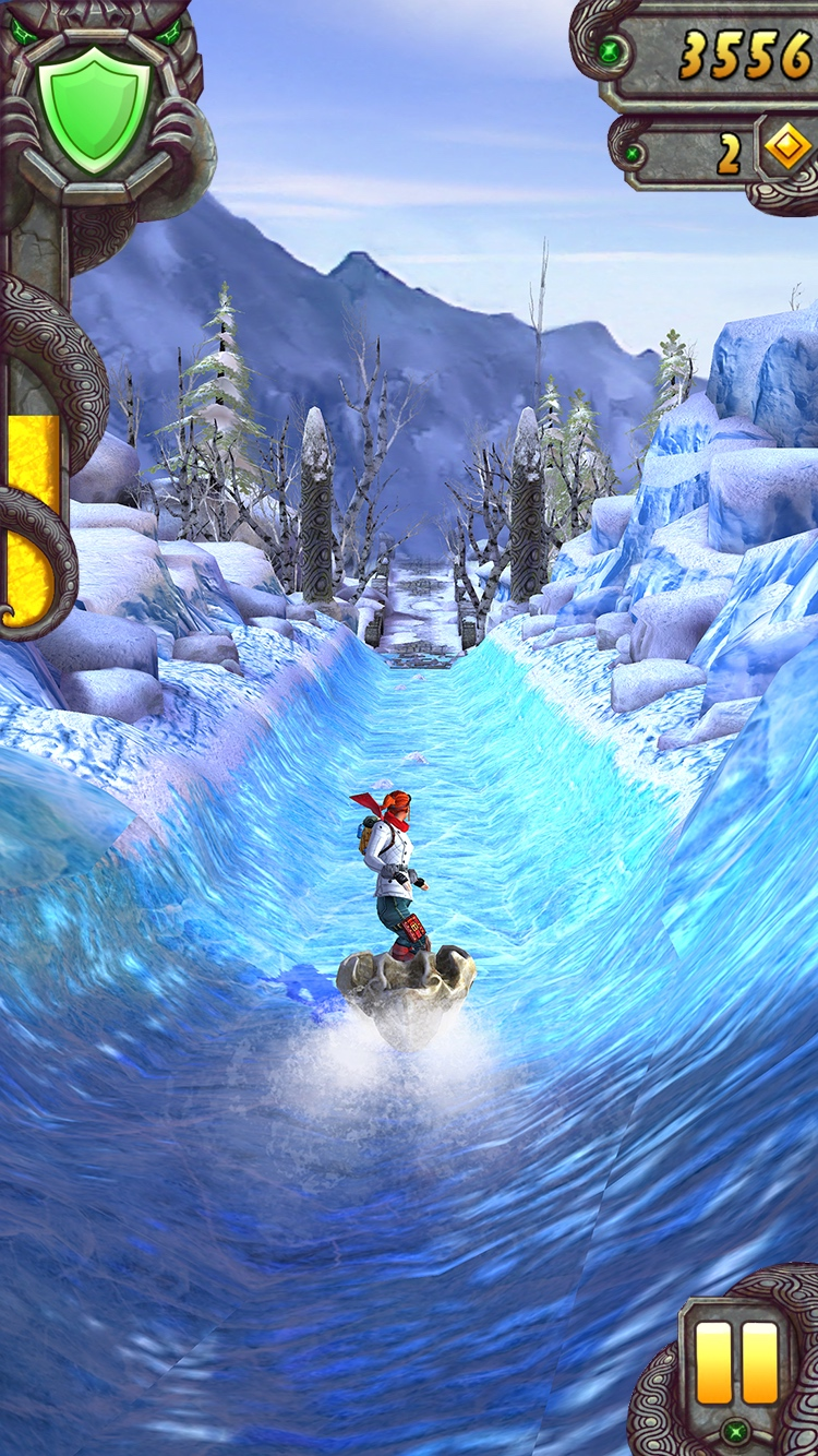 Temple Run 2 Frozen Shadows Scarlett luge