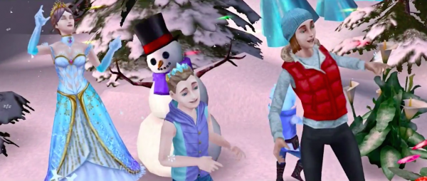 A winter wonderland and other 'cool' stuff await in The Sims FreePlay