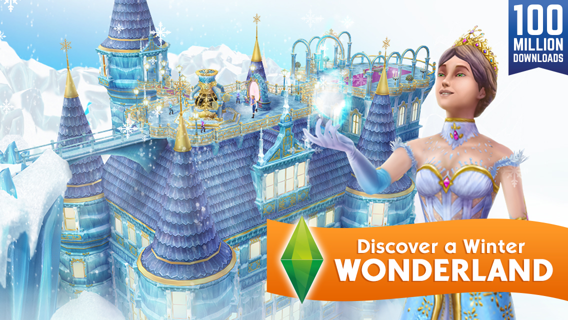 The Sims FreePlay Winter Wonderland