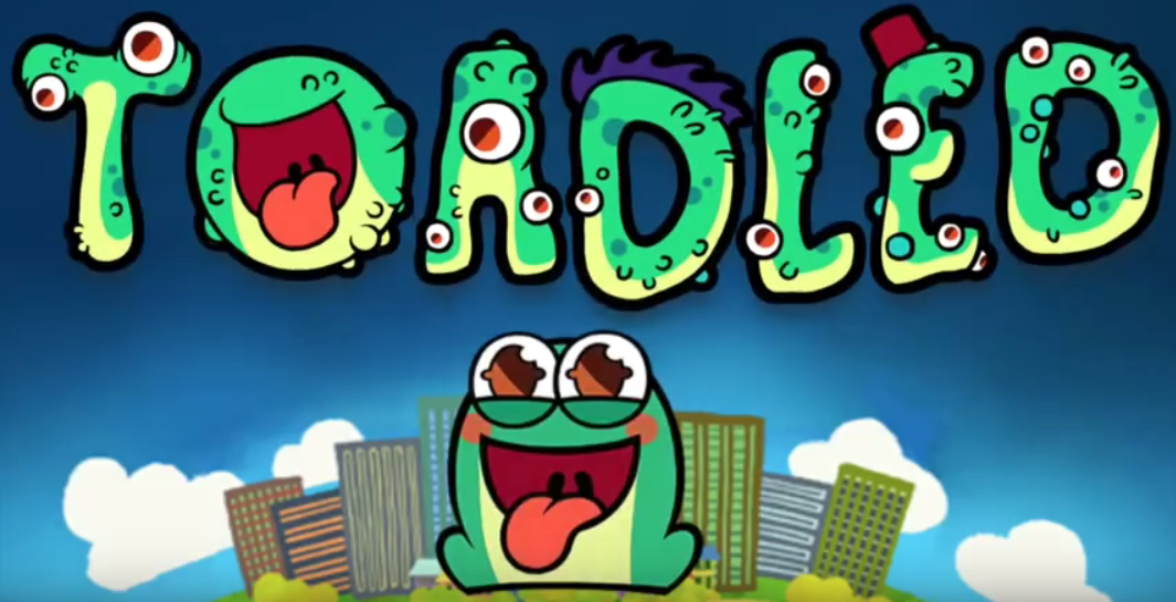 Become the largest, luckiest toad on the planet in Toadled