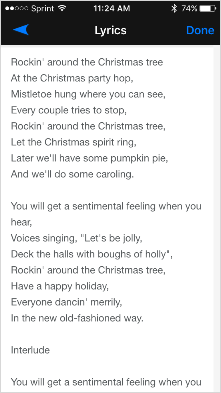 nice selection - Best Christmas Lyrics