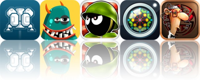 Today's apps gone free: Cavernaut, A to Z Monsters, Tiny Defense and more