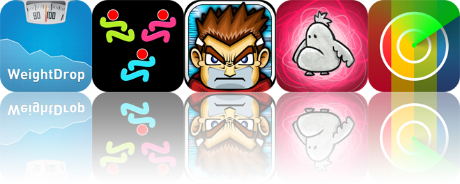 Today's apps gone free: WeightDrop, DMD vClone, Guardian Sword and more