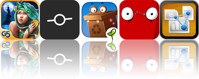 Today's apps gone free: Nightmares from the Deep, LVL CAM, Gro Recycling and more