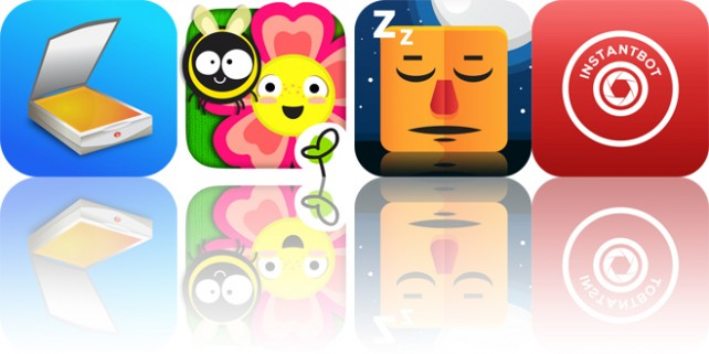 Today's apps gone free: JotNot, Gro Flowers, Sleep Furiously and more