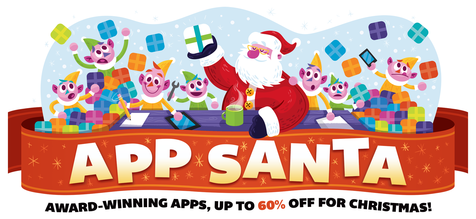 Be jolly with these amazing discounts from App Santa