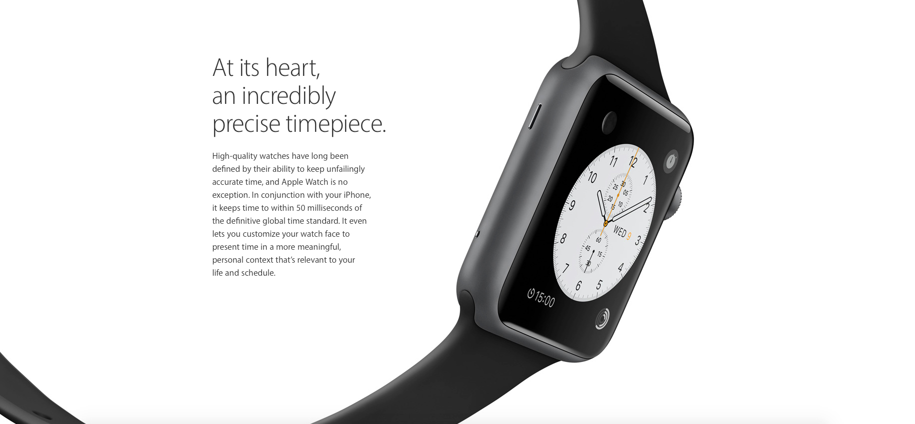 Ring in the new year with the exceptionally accurate Apple Watch
