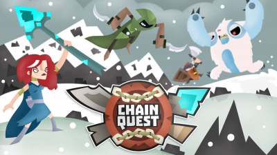 Slaughter evil monsters in Chain Quest, a puzzling RPG