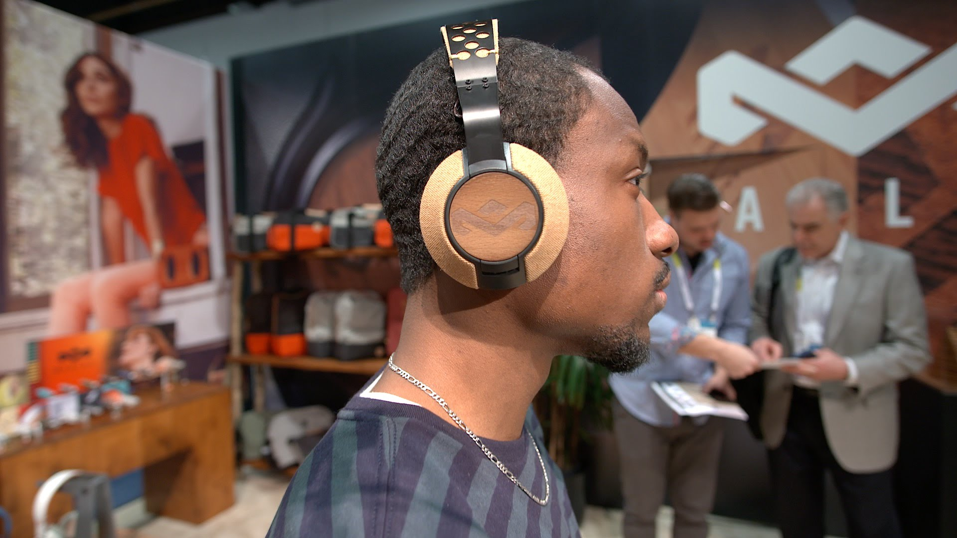 House of Marley's Liberate XLBT headset looks and sounds stunning