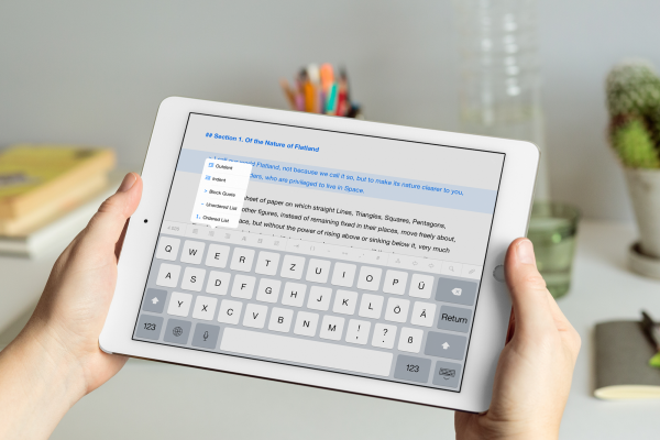 New Ulysses beta brings the text editor to the iPhone