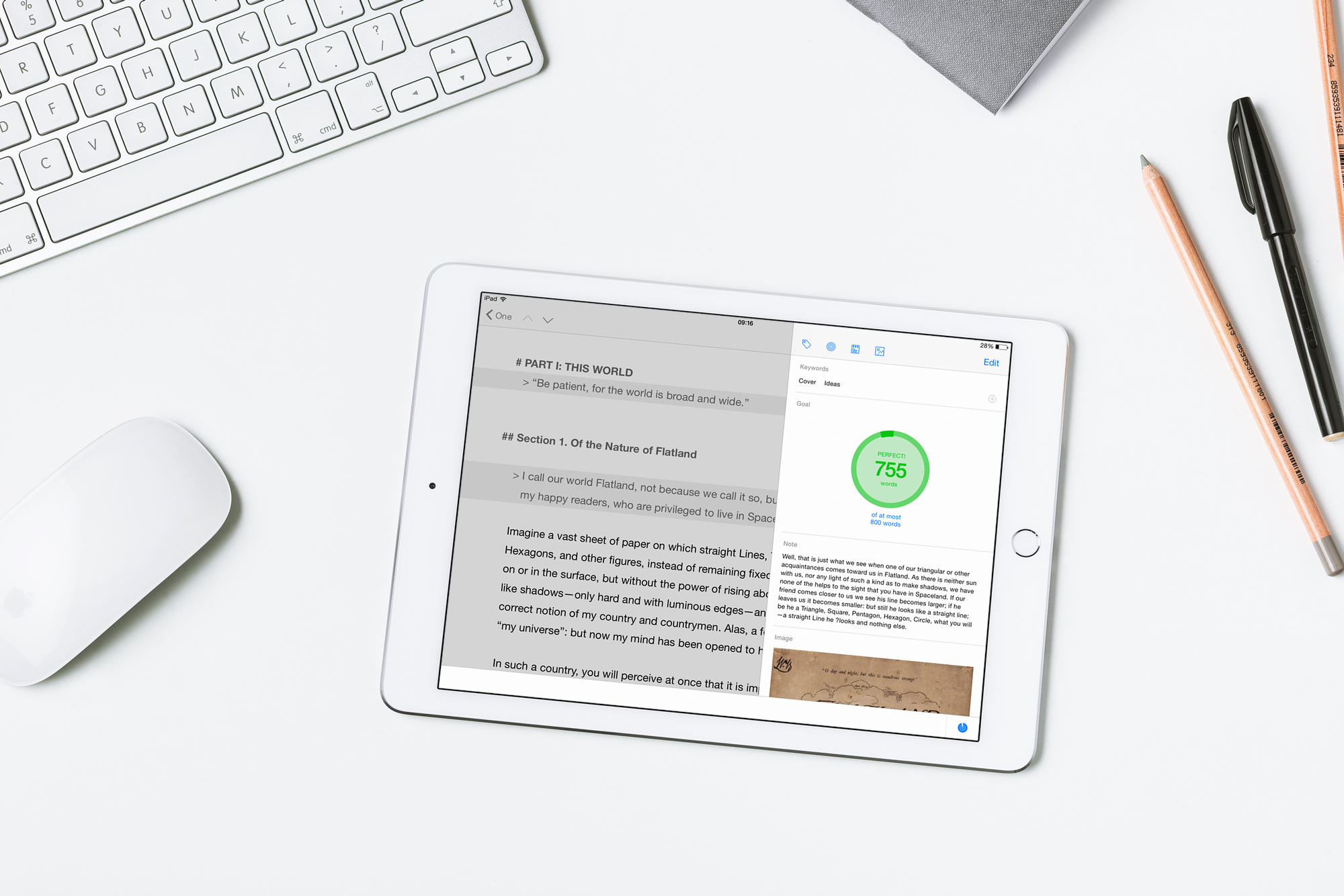 Give the gift of writing with Ulysses for iPad at half price