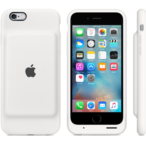 iPhone 6 batter case white