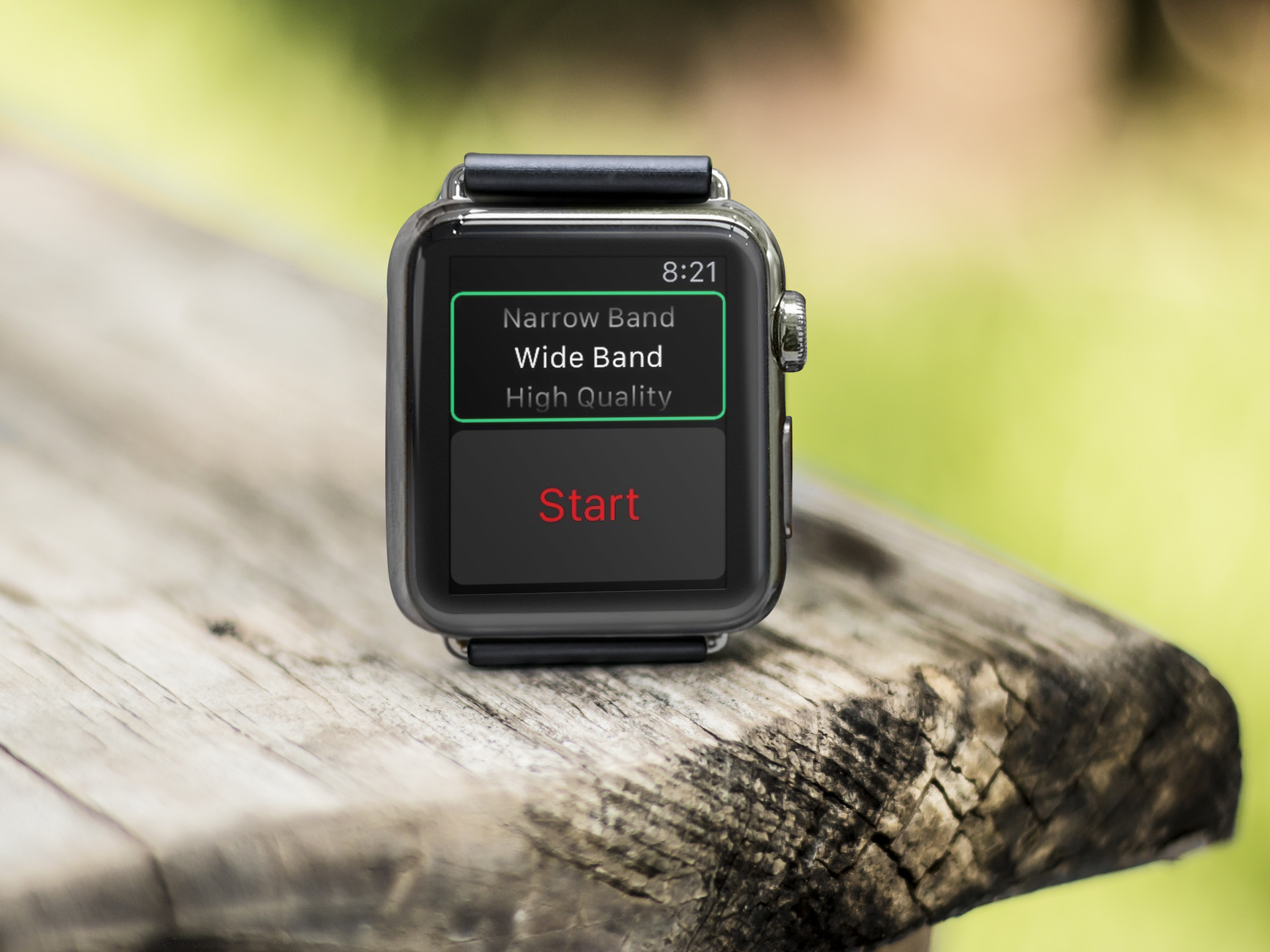 Record important conversations with iReg for Apple Watch