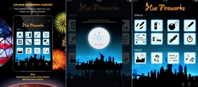 Ring in the New Year with Hue Fireworks for Philips Hue
