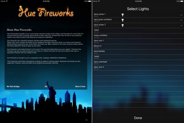 Hue Fireworks for Philips Hue.