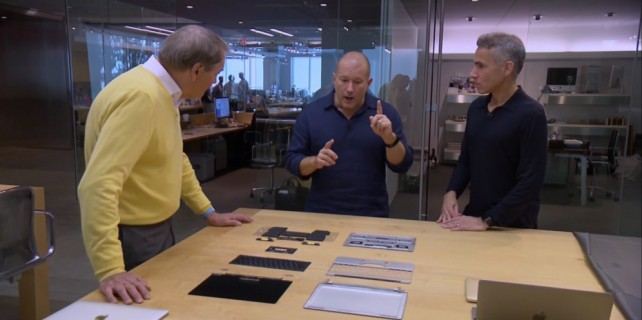 Jony Ive's secret design labs.