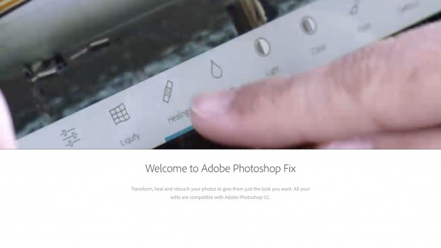 Adobe's Photoshop Fix gets enhanced support for the Apple Pencil