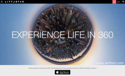 Littlstar for Apple TV uses 360-degree capture to add a sense of realism to video