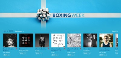 Apple launches a Boxing Week sale in iTunes for Canada and Britain
