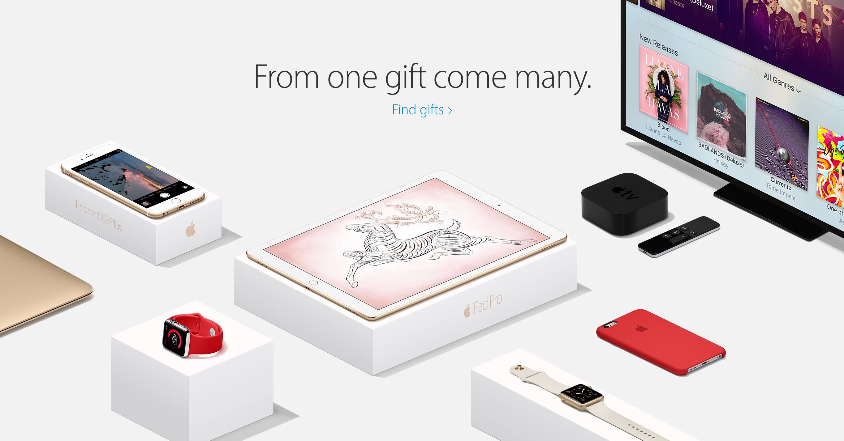 Almost half of all Christmas week activations were Apple devices