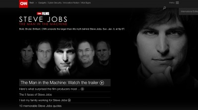 'Steve Jobs: The Man in the Machine' is airing this Sunday on CNN