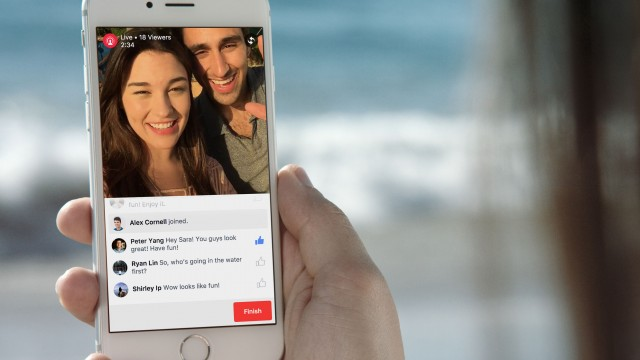 Facebook's Live Video feature expands to a small number of non-famous users