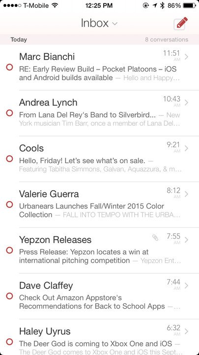 If you use your inbox like a to-do list, then Mail Pilot 2 is made for you.