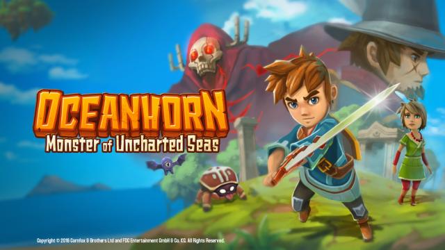Epic adventure Oceanhorn receives improvements for iPad Pro