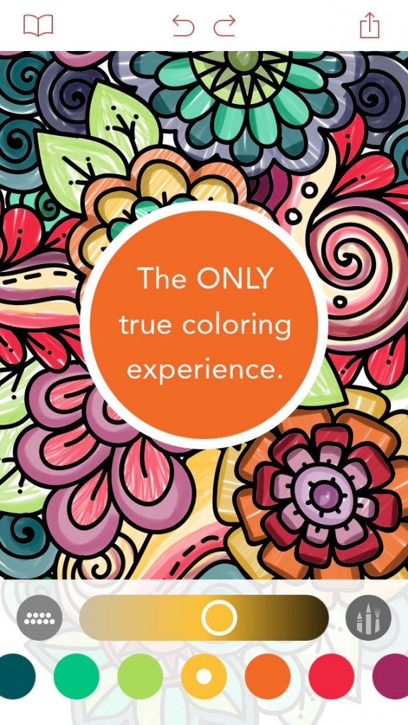 Add Color To Your Life With Pigment An Adult Coloring Book