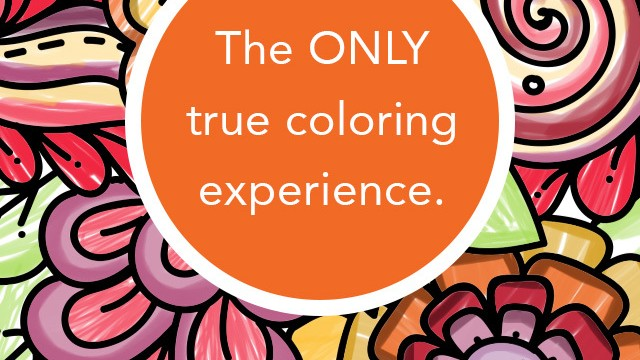 Add color to your life with Pigment, an adult coloring book