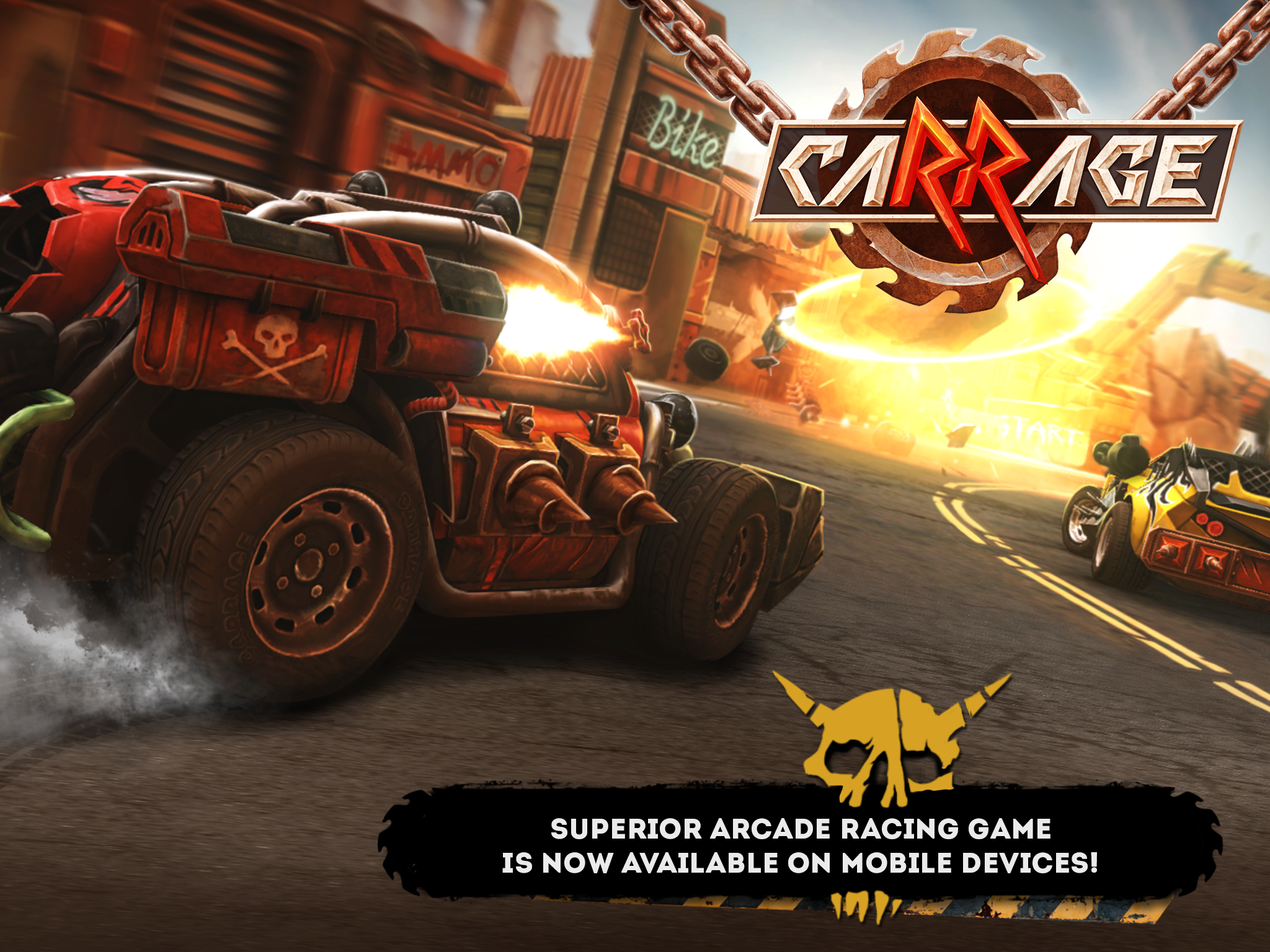 Get into Mad Max-style racing in caRRage - Wheels of War