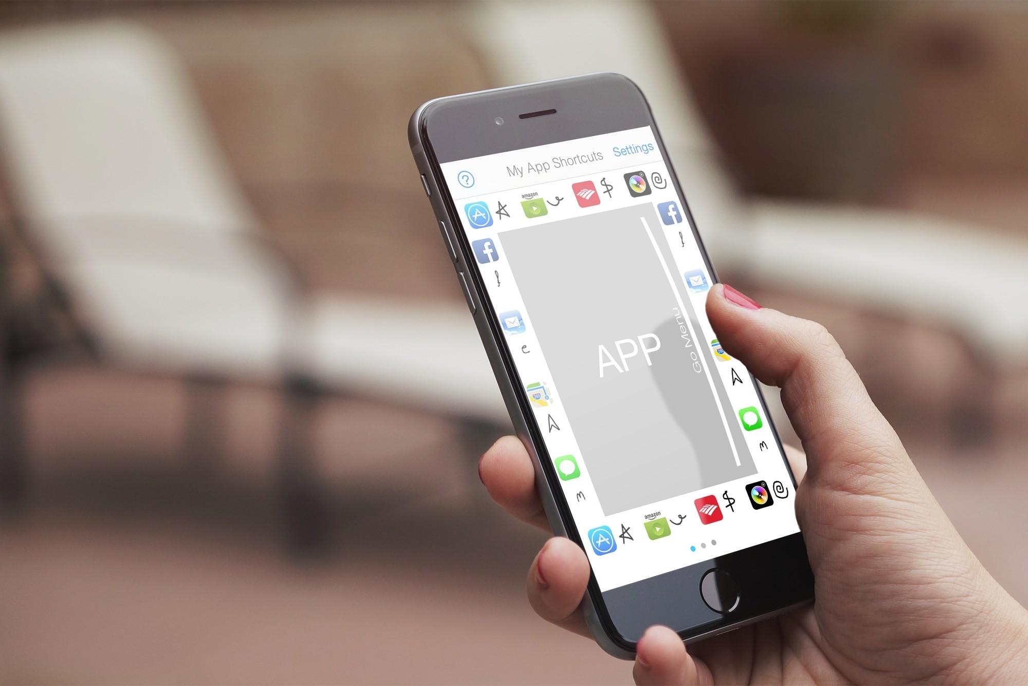 Open apps with quick gestures using LaunchCode Shortcut