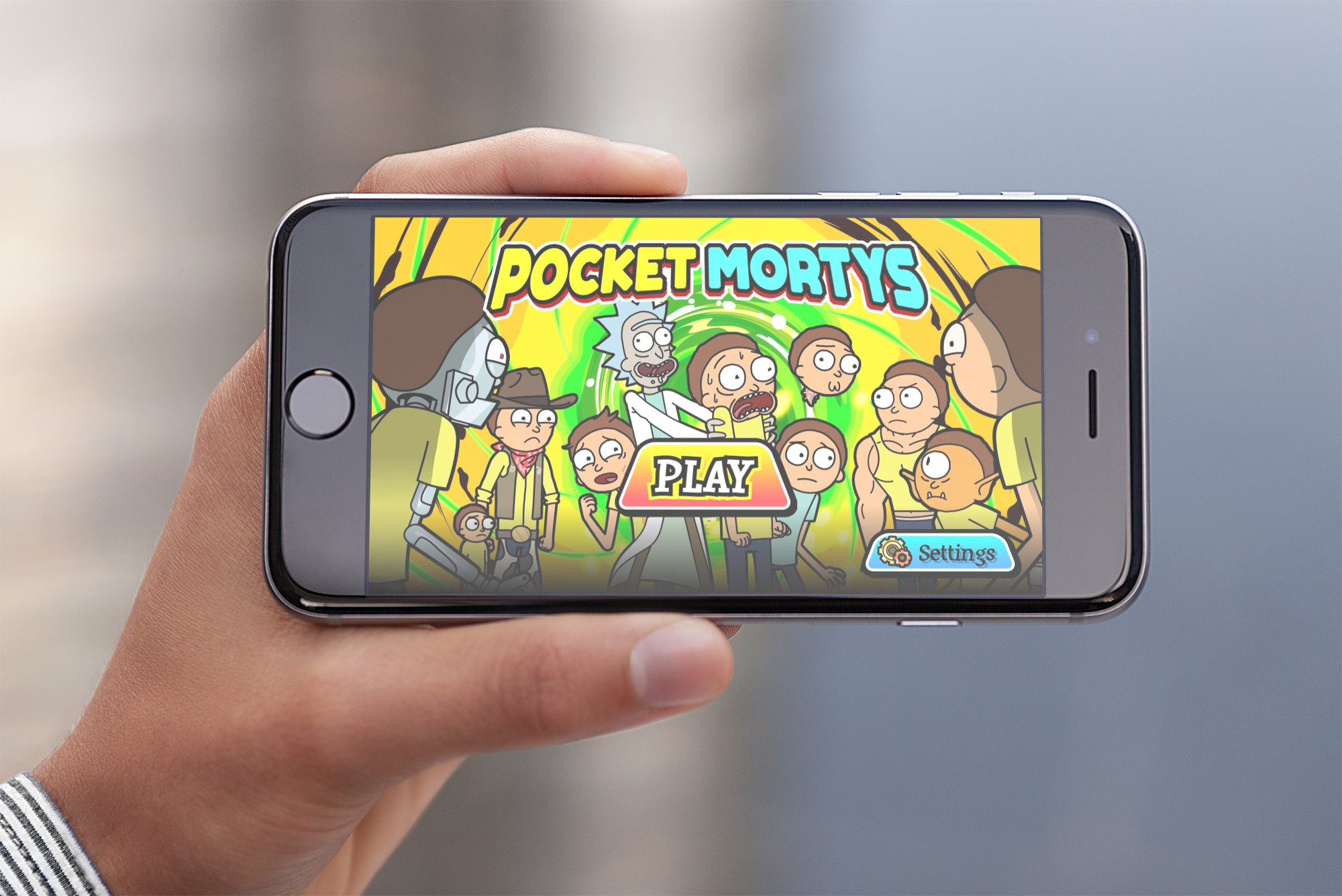 Battle for respect in Adult Swim's Pocket Mortys, now on iOS