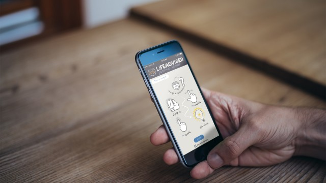 Shake things up with Lifeadviser, a modern day Magic 8-Ball