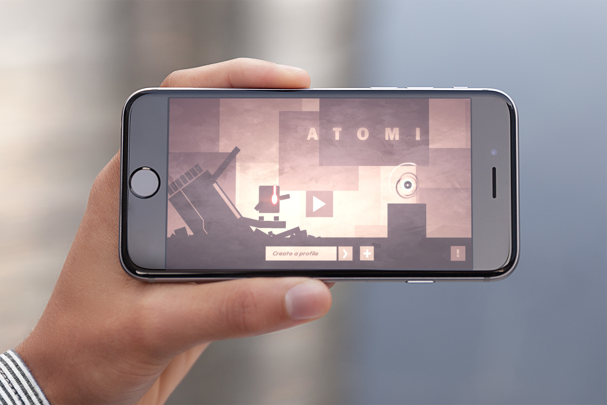 Build a path for Atomi in this beautiful logic puzzle game
