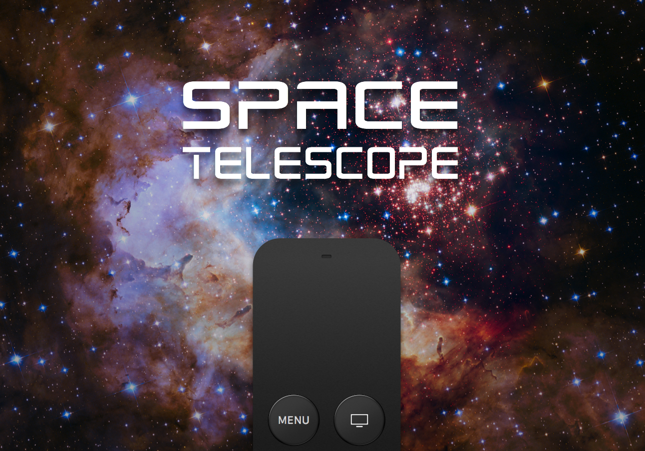 Explore the heavens with Space Telescope for Apple TV
