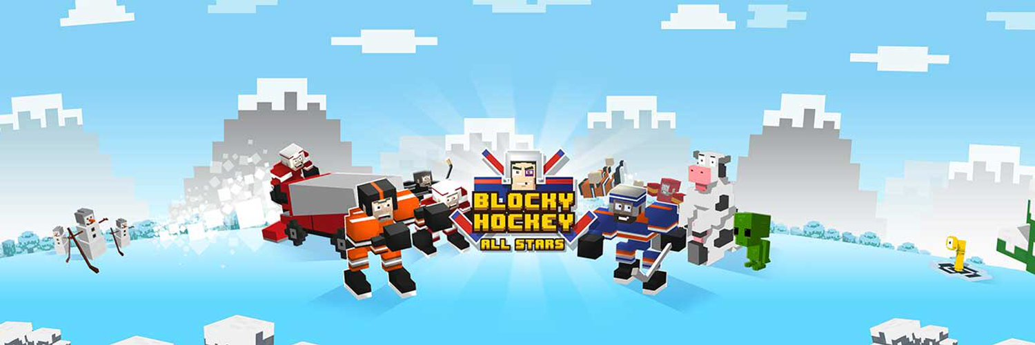 Blocky Hockey All Stars hero