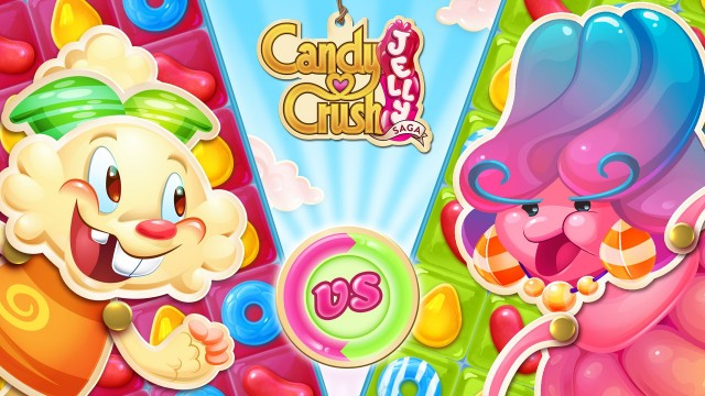 Are you ready for this jelly? King's Candy Crush Jelly Saga is out now on iOS