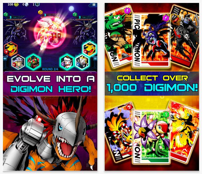Digimon Heroes 1