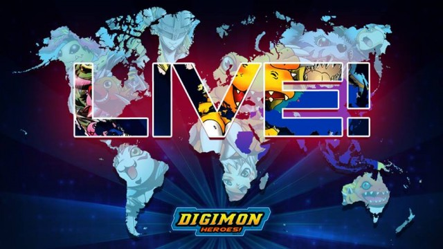 Digimon Heroes match-3 card battle adventure game out now on iOS
